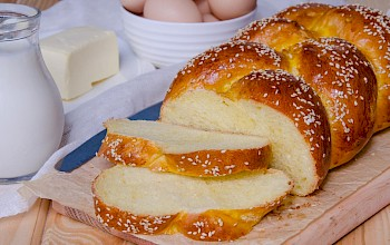 Challah bread - calories, nutrition, weight