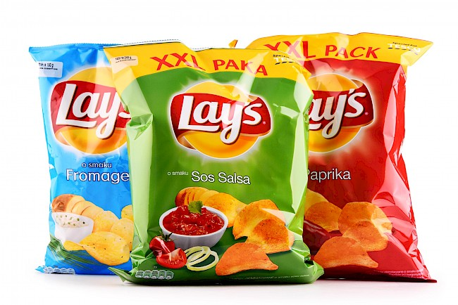 Lays chips - calories, kcal, weight, nutrition