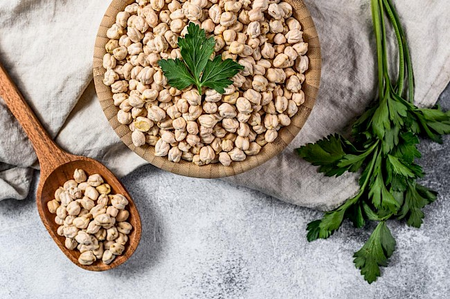 Chickpeas - calories, kcal