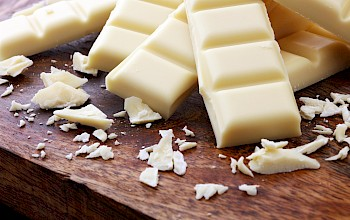 White chocolate - calories, nutrition, weight