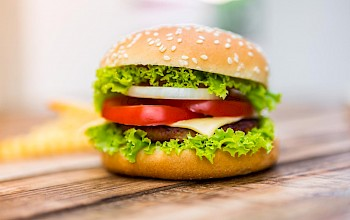 Hamburger - calories, nutrition, weight