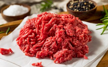 Ground beef - calories, nutrition, weight
