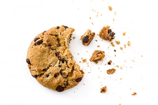 Chocolate chip cookie - calories, kcal