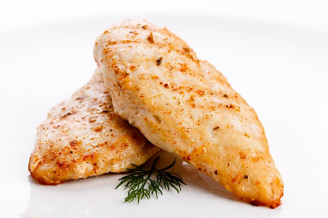 Grilled chicken breast - calories, kcal