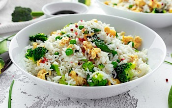 Fried rice - calories, nutrition, weight