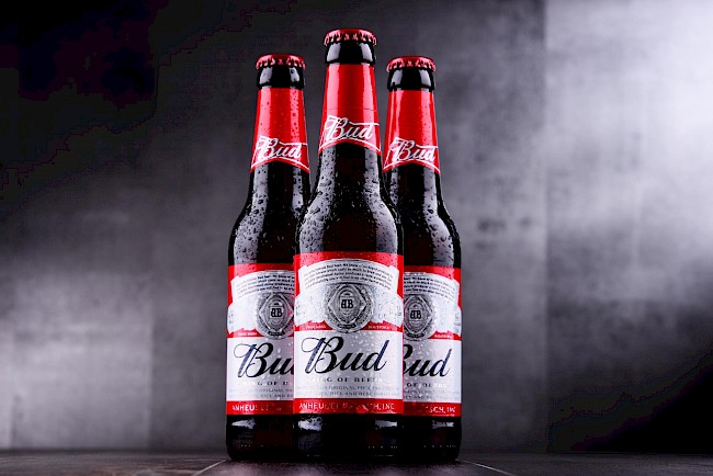 Budweiser beer - calories, kcal
