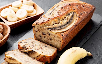 Banana bread - calories, nutrition, weight
