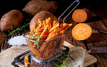 Sweet potato fries - calories, nutrition, weight
