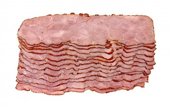 Turkey bacon - calories, nutrition, weight