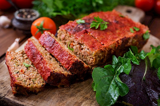 Meatloaf - calories, kcal