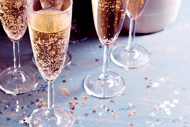 Champagne - calories, kcal