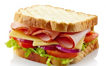 Turkey sandwich - calories, nutrition, weight