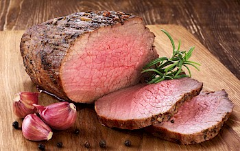 Roast beef - calories, nutrition, weight
