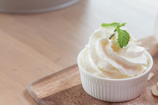 Heavy whipping cream - calories, kcal