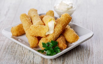 Mozzarella cheese sticks - calories, nutrition, weight