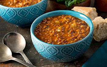 Lentil soup - calories, nutrition, weight