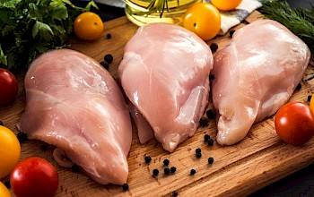Skinless chicken breast - calories, nutrition, weight