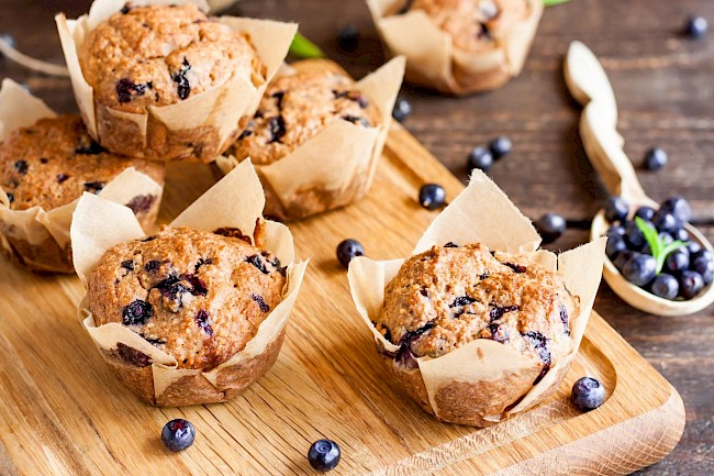 Blueberry muffin - calories, kcal