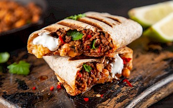 Burrito - calories, nutrition, weight