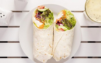 Vegetarian burrito  - calories, nutrition, weight
