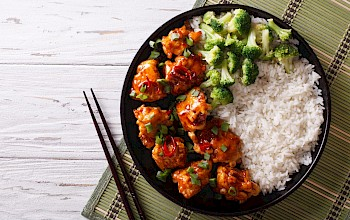 General Tso chicken - calories, nutrition, weight