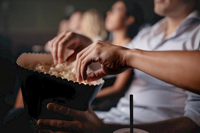 Movie Theater Popcorn with butter - calories, kcal