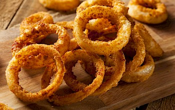 Onion rings - calories, nutrition, weight