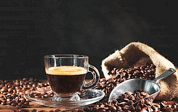 Brewed coffee - calories, nutrition, weight