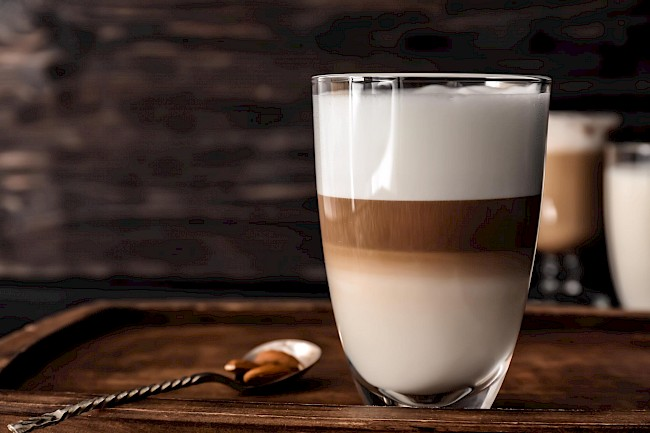 Latte coffee - calories, kcal