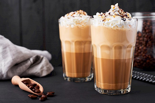 Iced Latte coffee - calories, kcal