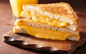 Grilled cheese sandwich - calories, nutrition, weight