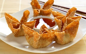 Crab rangoon - calories, nutrition, weight