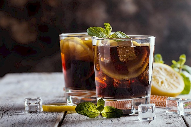 Whiskey and cola - calories, kcal