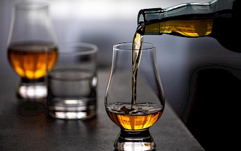 Whiskey and water - calories, nutrition, weight