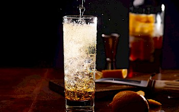 Whiskey and soda - calories, nutrition, weight