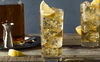 Whiskey and ginger ale - calories, nutrition, weight