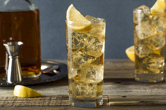 Whiskey and ginger ale - calories, kcal