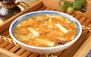 Hot and sour soup - calories, nutrition, weight