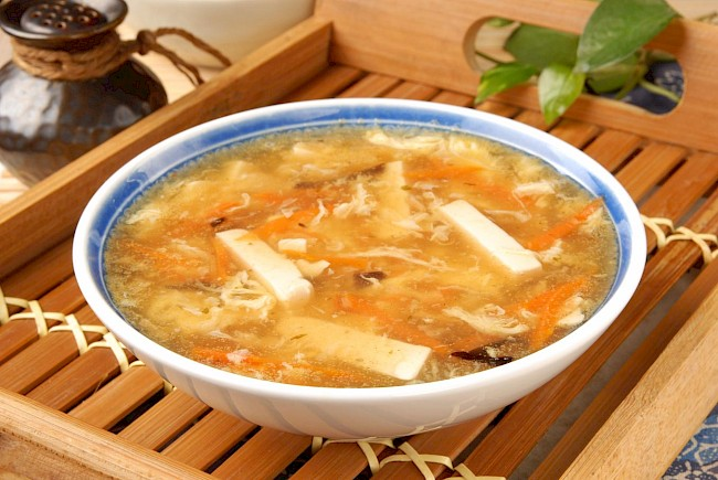 Hot and sour soup - calories, kcal