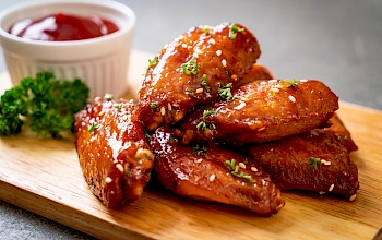 Buffalo wings - calories, nutrition, weight