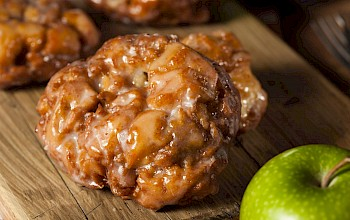 Apple fritter - calories, nutrition, weight