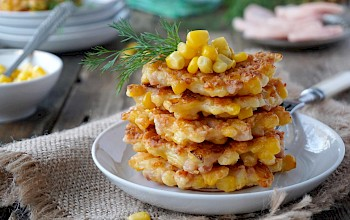 Corn fritter - calories, nutrition, weight