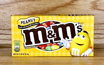 M&M's Peanut - calories, nutrition, weight
