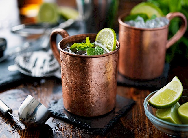 Moscow mule - calories, kcal