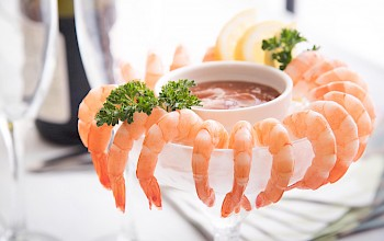 Shrimp cocktail - calories, nutrition, weight