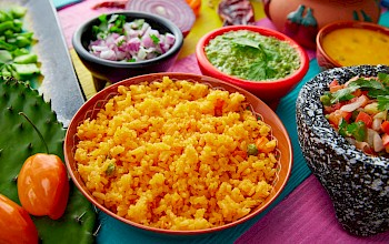 Mexican rice - calories, nutrition, weight