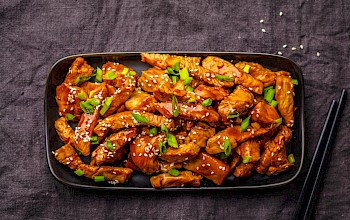 Chicken teriyaki - calories, nutrition, weight