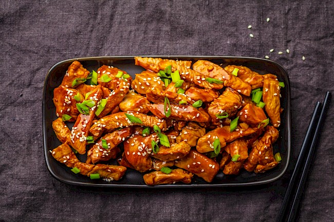Chicken teriyaki - calories, kcal