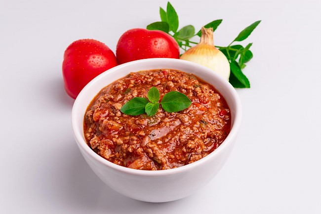 Spaghetti sauce with meat - calories, kcal