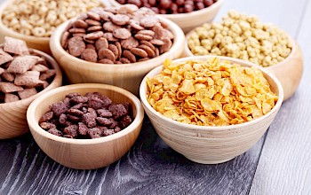 Cereals - calories, nutrition, weight